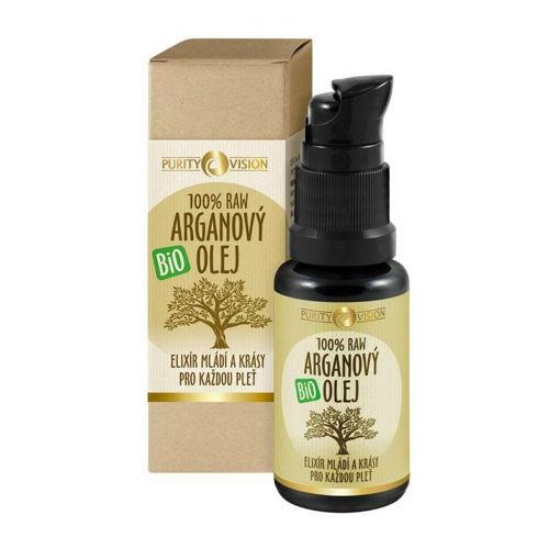 PURITY VISION raw bio arganový olej 30 ml PURITY VISION