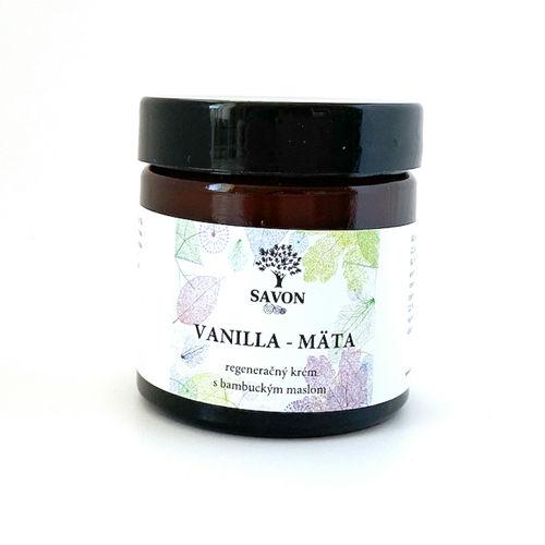 Regenerační krém Vanilla a Máta 60 ml Savon