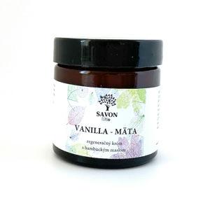 Savon Regenerační krém Vanilla a Máta 60 ml