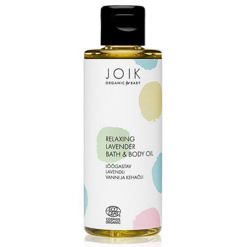 Relaxační levandulová koupel a olej pro děti JOIK Organic