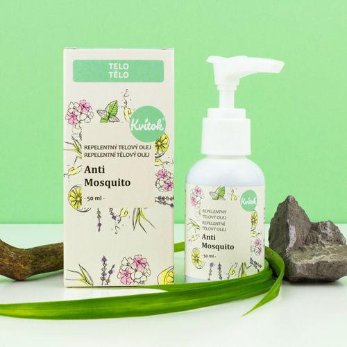 Repelentní tělový olej Anti Mosquito Navia/Kvitok