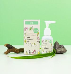 Kvitok Repelentní tělový olej Anti Mosquito ŠPINAVÝ OBAL