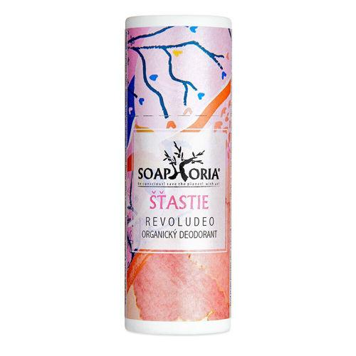 Revoludeo organický deodorant Štěstí Soaphoria