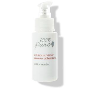 100% Pure Rozjasňující báze pod make-up s vitamíny, antioxidanty a resveratrolem