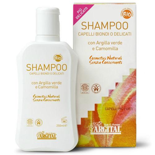 Rozjasňující šampon na blond a jemné vlasy s heřmánkem Argital