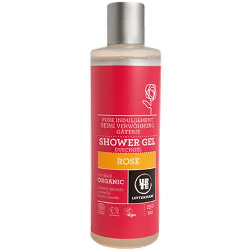 Rozmazlující sprchový gel s růží Urtekram