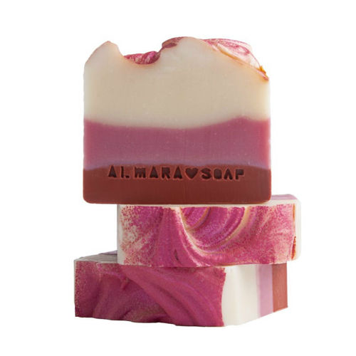 Ručně vyráběné mýdlo Božské maliny Almara Soap