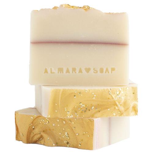Ručně vyráběné mýdlo Sparkling Champagne expirace 9/2021 Almara Soap