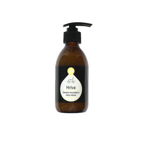 """Šampon na podporu růstu vlasů """"Hriva"""" LIQOIL"""