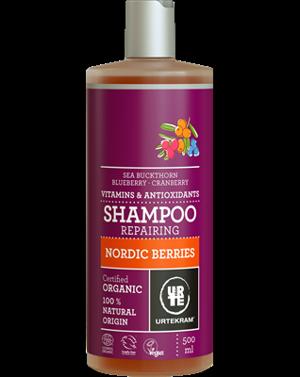 Urtekram Šampon na poškozené vlasy Severské bobule 500 ml