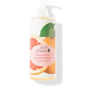 100% Pure Šampon Yuzu a pomelo 390 ml