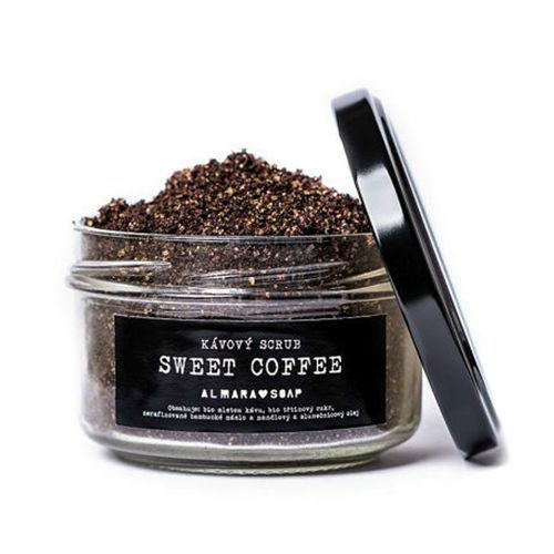 Scrub Sweet Coffee na tělo i obličej Almara Soap