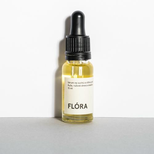 Sérum na suchou a citlivou pleť FLÓRA - MINI 15 ml Mylo