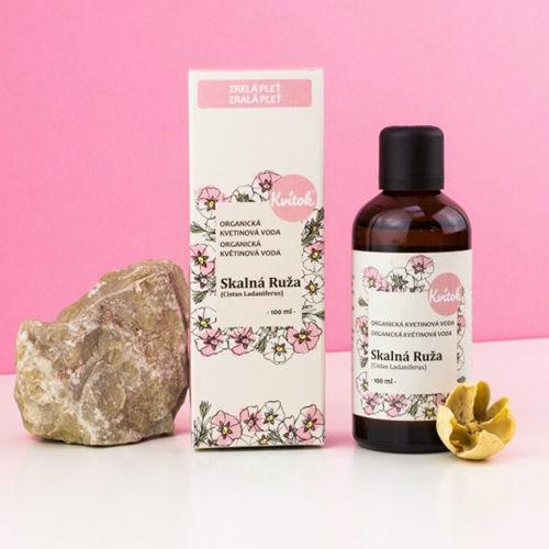 Skalní růže (Cistus) - BIO květová voda 100 ml Navia