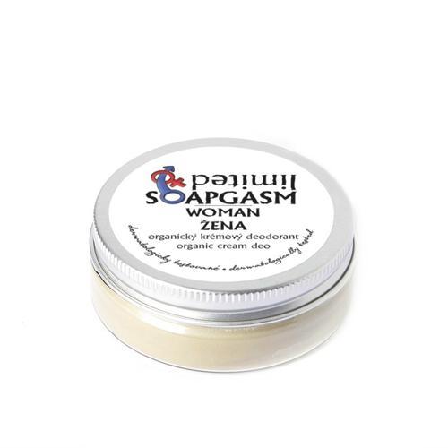 Krémový deodorant Soapgasm Žena  Soaphoria