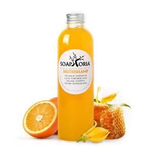 Soaphoria NutriShamp – organický tekutý šampon na suché poškozené vlasy