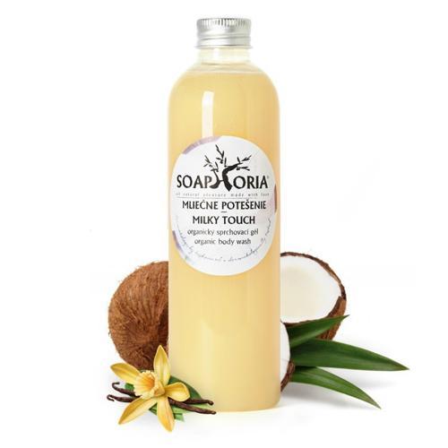 Organický sprchový gel Mléčné potěšení Soaphoria