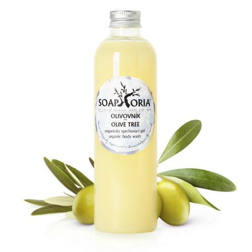 Přírodní sprchový gel Olivovník Soaphoria