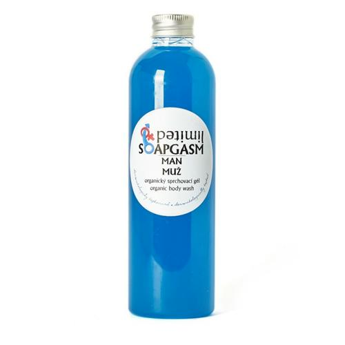 Organický sprchový gel Soapgasm Muž Soaphoria