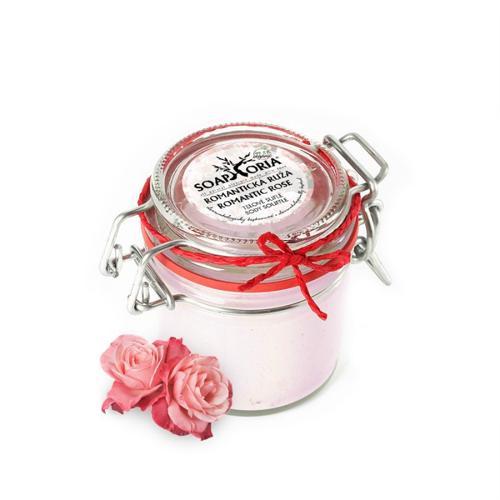 Tělové suflé Romantická růže Soaphoria