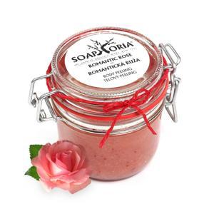 Soaphoria Tělový peeling Romantická růže