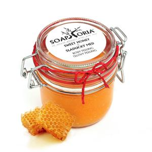 Soaphoria Tělový peeling Slaďoučký med