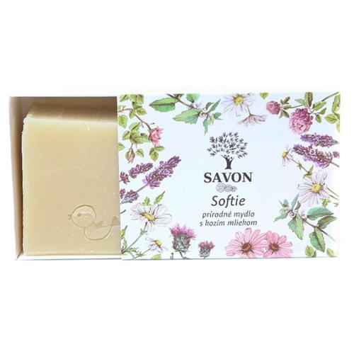 Softie - přírodní mýdlo s kozím mlékem Savon