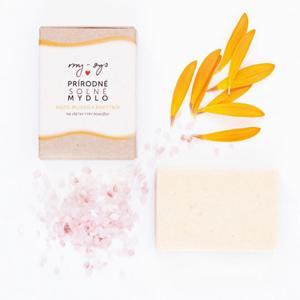 my-sys Solné mýdlo s kozím mlékem a rakytníkem