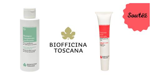 SOUTĚŽ o produkty Biofficina Toscana