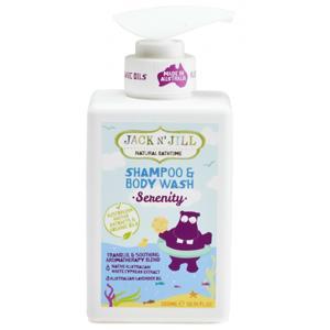 Jack N' Jill Sprchový gel a šampon Serenity