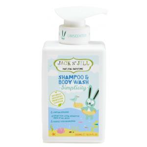 Jack N' Jill  Sprchový gel a šampon Simplicity