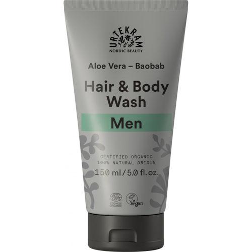 Sprchový gel & šampon MEN Urtekram