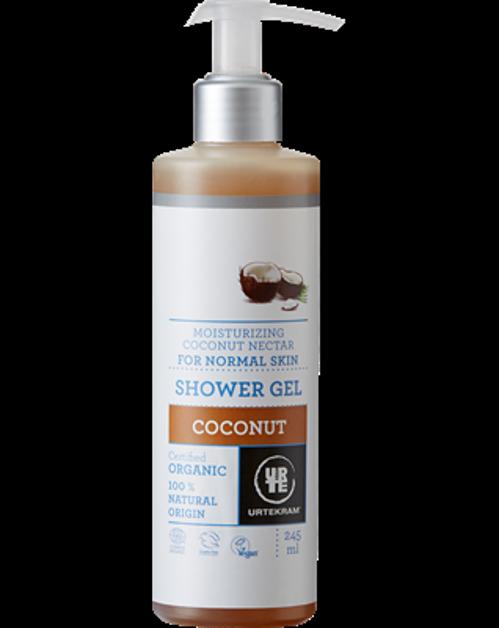 Hydratační sprchový gel s kokosovým nektarem Urtekram
