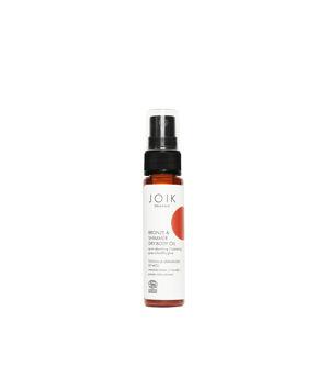 JOIK Organic Suchý tělový olej s bronzem a třpytem - cestovní velikost
