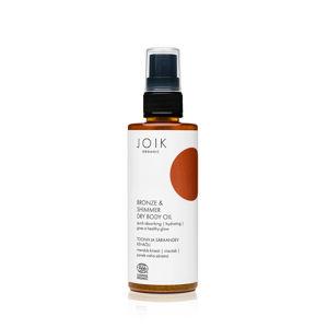 JOIK ORGANIC Suchý tělový olej s bronzem a třpytem expirace 7/2021