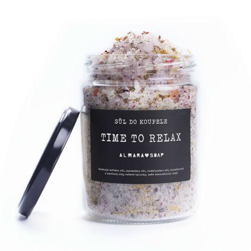 Sůl do koupele TIME TO RELAX Almara Soap
