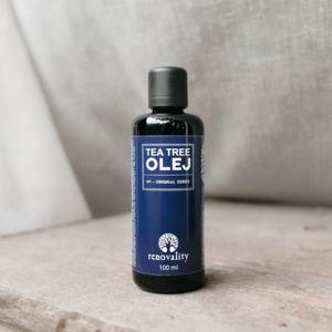 Renovality Tea Tree esenciální olej 100 ml
