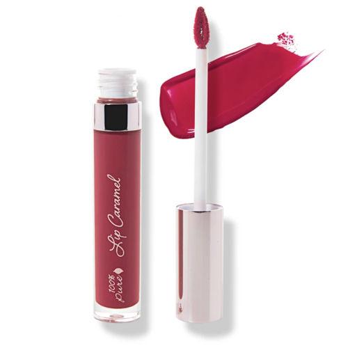 Tekutá rtěnka Lip Caramel Cherry Cordial 100% Pure