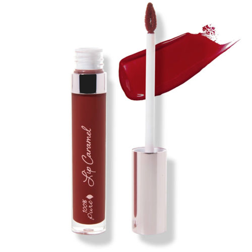 Tekutá rtěnka Lip Caramel Red Velvet 100% Pure