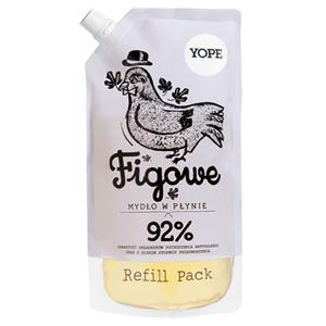 Yope Tekuté koupelnové mýdlo Fík - náplň 500 ml
