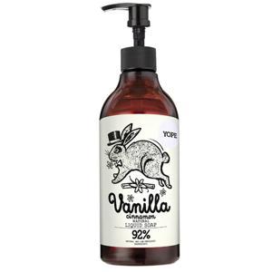 Yope Tekuté koupelnové mýdlo Vanilka a skořice