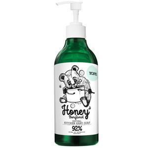 Yope Tekuté  kuchyňské mýdlo Med a bergamot