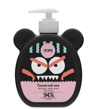 Yope Tekuté mýdlo pro děti Kokos a máta