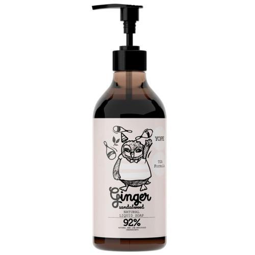 Tekuté mýdlo s TGA Zázvor a santalové dřevo Yope