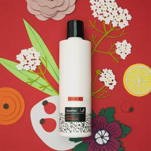 CALTHA CALTHA Tekutý šampon na suché a poškozené vlasy Bezový květ a Šípek