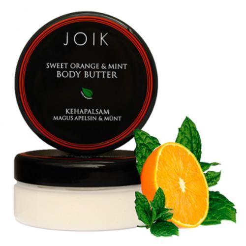Tělové máslo s pomerančem a mátou Joik