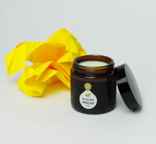 LIQOIL tělové máslo Vanilka  LIQOIL