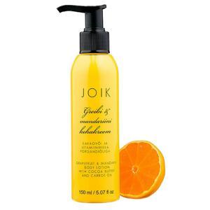 Joik Tělové mléko s grapefruitem, mandarinkou a mrkvovým olejem