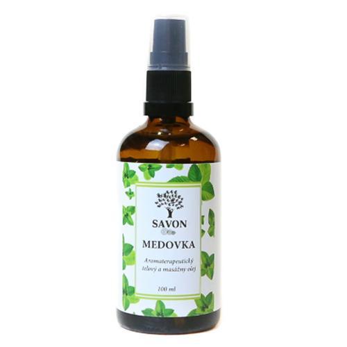 Tělový a masážní olej Meduňka Savon