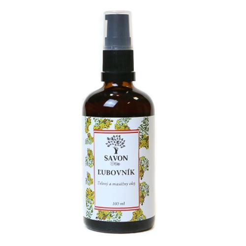 Tělový a masážní olej Třezalka Savon